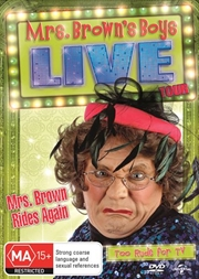 Mrs Brown Rides Again - Live Tour | DVD
