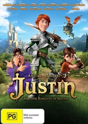 Justin And The Knights Of The Valour   DVD