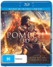 Pompeii | 3D + 2D Blu-ray