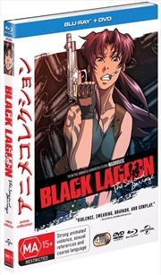 Black Lagoon - The Second Barrage Collection | Blu-ray/DVD