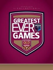 State Of Origin - Greatest Ever Games - Queensland Complete Collection - Limited Edition