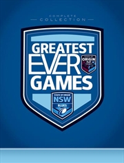 State Of Origin - Greatest Ever Games - New South Wales Complete Collection - Limited Edition