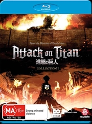 Attack On Titan - Collection 1 | Blu-ray