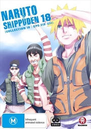 Naruto Shippuden - Collection 18 - Eps 219-231 | DVD