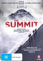 Summit, The   DVD