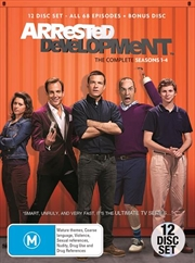 Arrested Development - Season 1-4 | Boxset | DVD