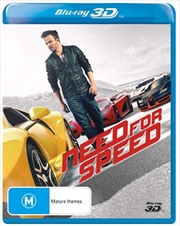 Need For Speed | Blu-ray 3D
