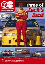 Magic Moments Of Motorsport - Three Of Dick's Best | DVD
