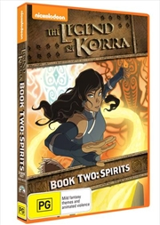 Legend Of Korra - Spirit - Book 2 | DVD