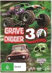 Monster Jam - Grave Digger - 30th Anniversary Edition