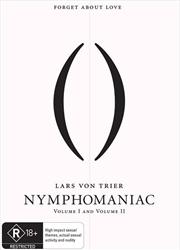 Nymphomaniac - Vol 1-2 Double Pack | DVD