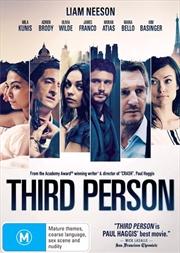 Third Person | DVD