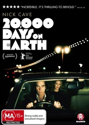 Nick Cave - 20,000 Days On Earth   DVD