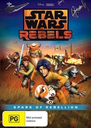 Star Wars Rebels - Spark Of Rebellion | DVD
