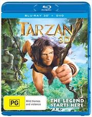 Tarzan | 3D Blu-ray + 2D Blu-ray + DVD