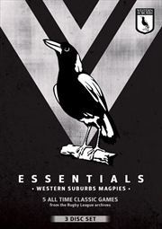NRL - Essentials - Western Suburbs Magpies