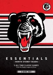 NRL - Essentials - North Sydney Bears