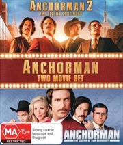 Anchorman - The Legend Of Ron Burgundy / Anchorman 2 - The Legend Continues | DVD