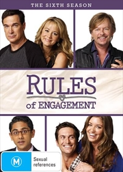 Rules Of Engagement - Season 6 | DVD