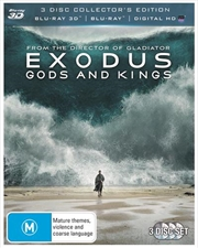 Exodus - Gods And Kings | 3D + 2D Blu-ray + UV