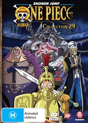 One Piece - Uncut - Collection 29 - Eps 349-360 | DVD