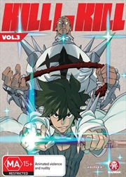 Kill La Kill - Vol 3 - Eps 10-14 | DVD