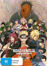 Naruto Shippuden The Movie - Road To Ninja | Blu-ray
