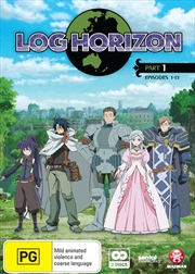 Log Horizon - Part 1 - Eps 1-13