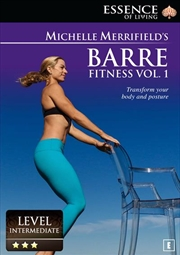 Michelle Merrifield Barre Fitness Vol 1 | DVD