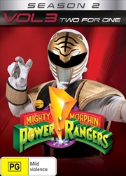 Mighty Morphin Power Rangers - Two For One - Season 2 - Vol 3