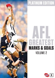 AFL - Greatest Marks and Goals - Vol 2