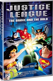 Justice League - The Brave And The Bold | DVD
