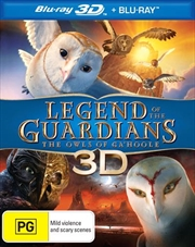 Legend Of The Guardians: Owls Of Ga'hoole | Blu-ray 3D
