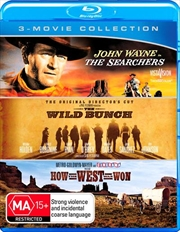 Searchers / The Wild Bunch / How The West Was Won | Triple Pack, The