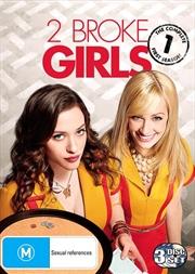 2 Broke Girls - Season 1   DVD