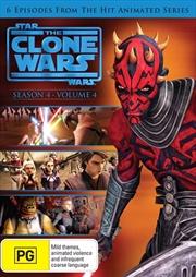 Star Wars - The Clone Wars - Animated Series - Season 4 - Vol 4