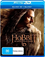 Hobbit - The Desolation of Smaug | 3D + 2D Blu-ray