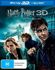Harry Potter And The Deathly Hallows - Part 1 | 3D + 2D Blu-ray