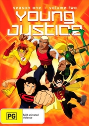 Young Justice - Season 1 - Vol 2 | DVD