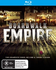 Boardwalk Empire - Season 1-3 | Boxset | Blu-ray