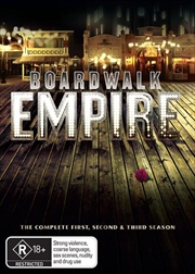 Boardwalk Empire - Season 1-3 Boxset | DVD