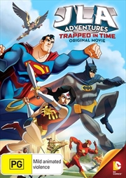 Justice League Adventure - Trapped In Time