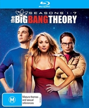 Big Bang Theory - Season 1-7 | Boxset, The