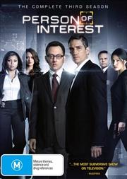 Person Of Interest - Season 3   DVD