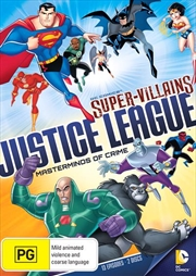 Justice League - Super Villains - Masterminds Of Crime | DVD