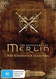 Adventures Of Merlin - Series 1-5 | Boxset, The