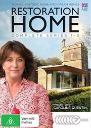 Restoration Home - Series 1-3   Boxset   DVD