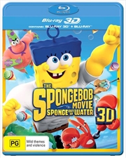 Spongebob Movie - Sponge Out Of Water | 3D + 2D Blu-ray, The