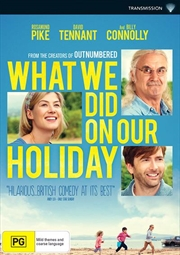 What We Did On Our Holiday | DVD