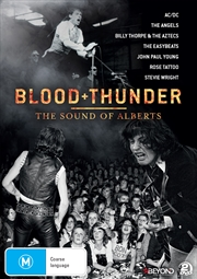 Blood And Thunder: The Sound Of Alberts | DVD